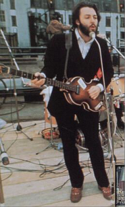 McCartneys Basses Guitars